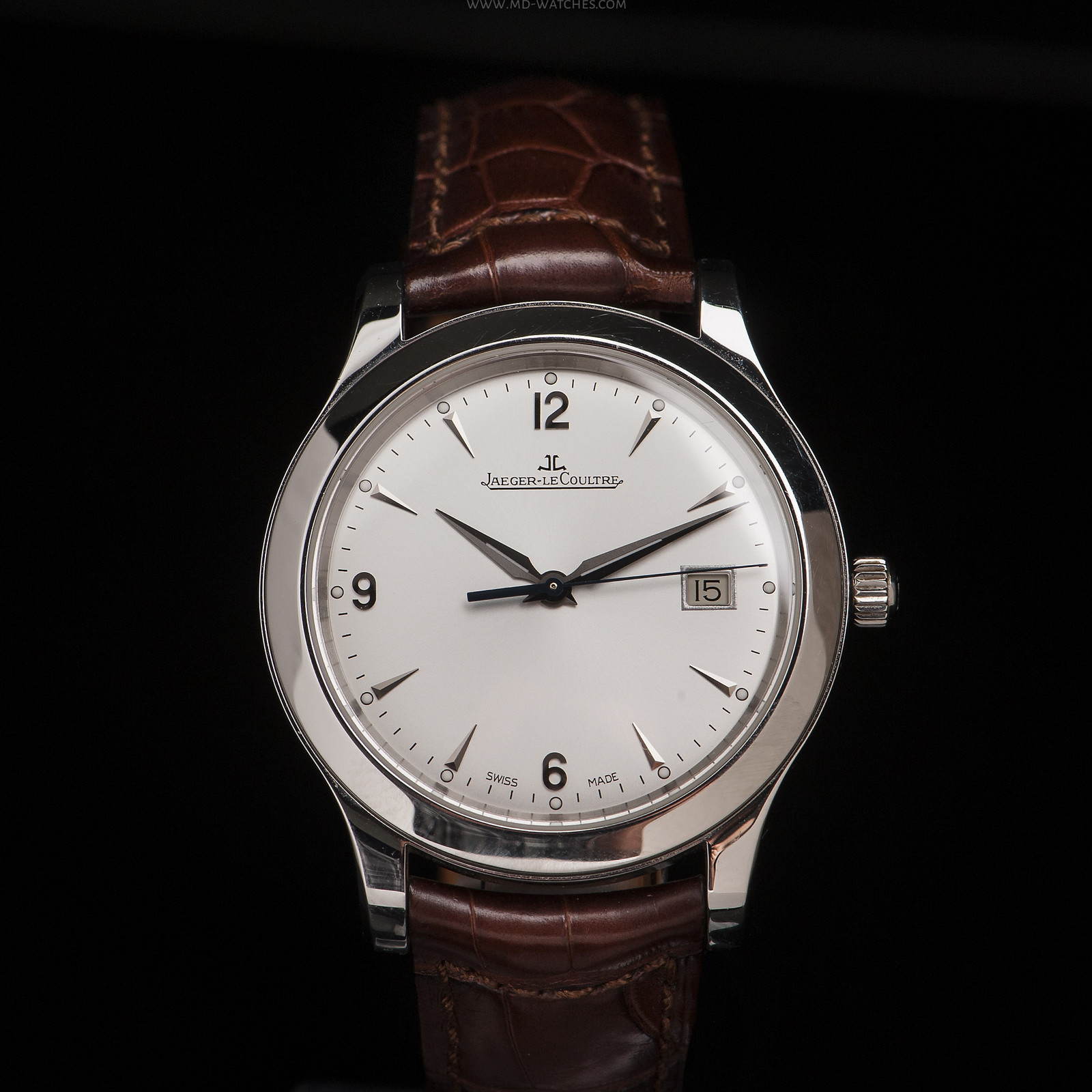 Jaeger lecoultre master control date ref 147 s 40mm md watches for Lecoultre watches