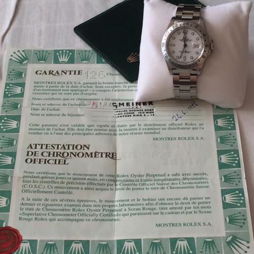 Rolex Explorer II 16570 8