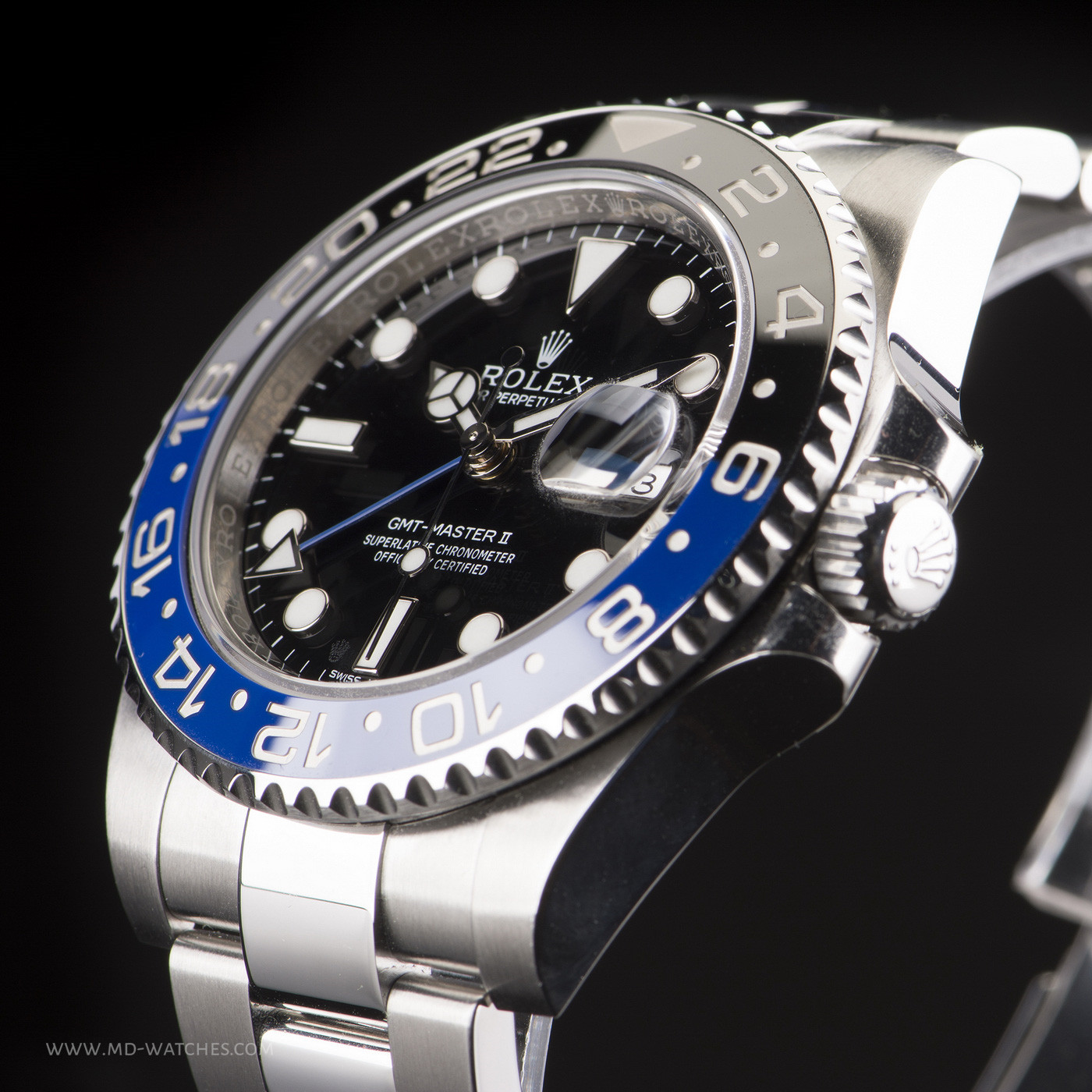 Rolex Gmt Master Ii 116710blnr Ceramic Batman