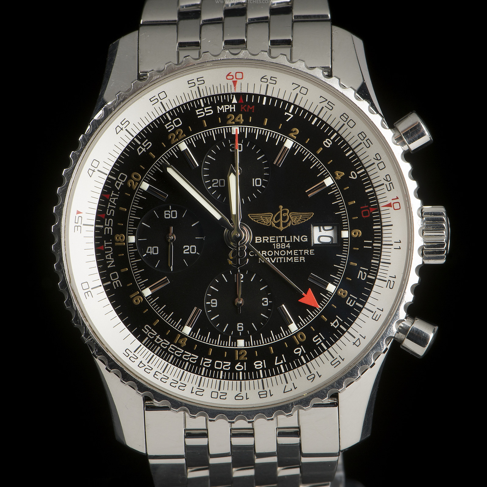 Breitling Navitimer World Chronograph Ref A24322 46mm