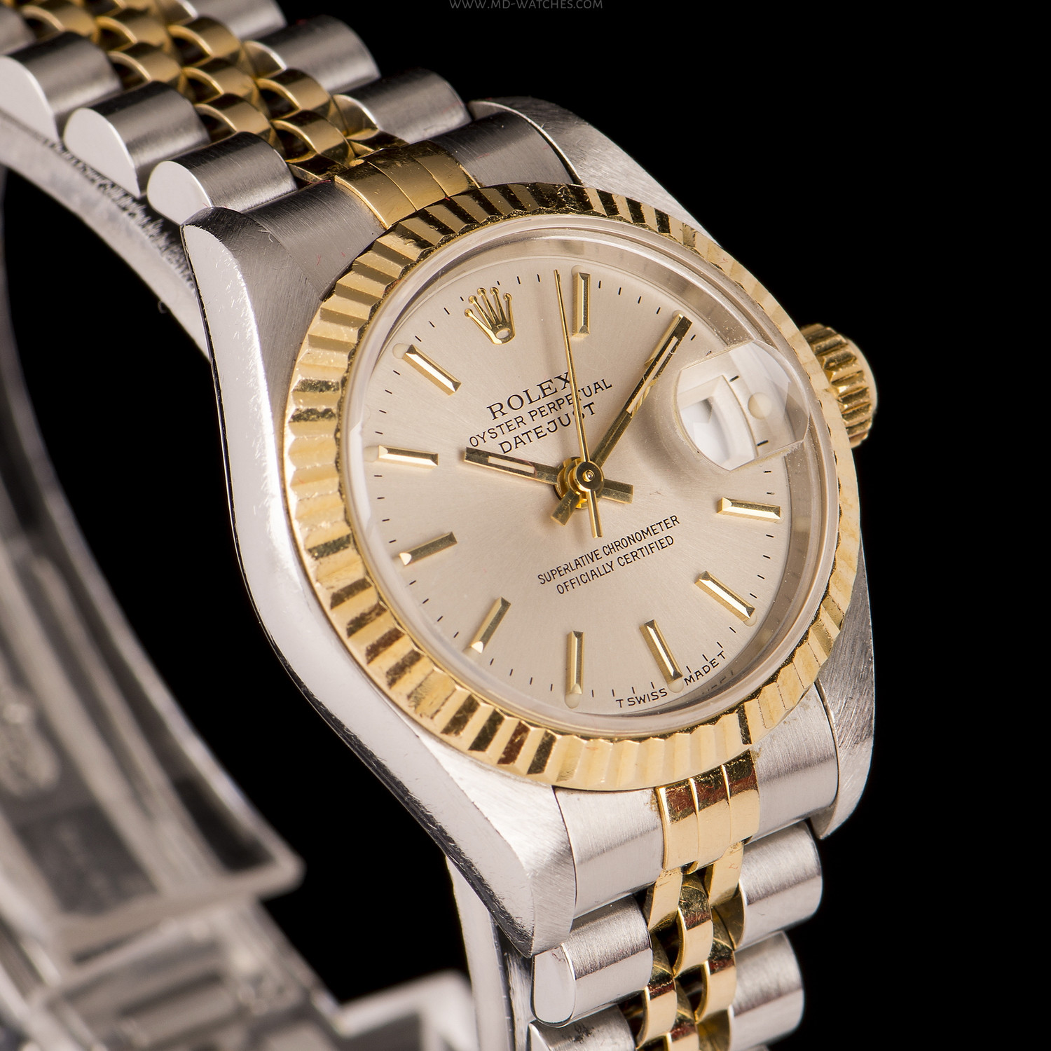rolex oyster perpetual datejust ref 69173 26mm md watches. Black Bedroom Furniture Sets. Home Design Ideas