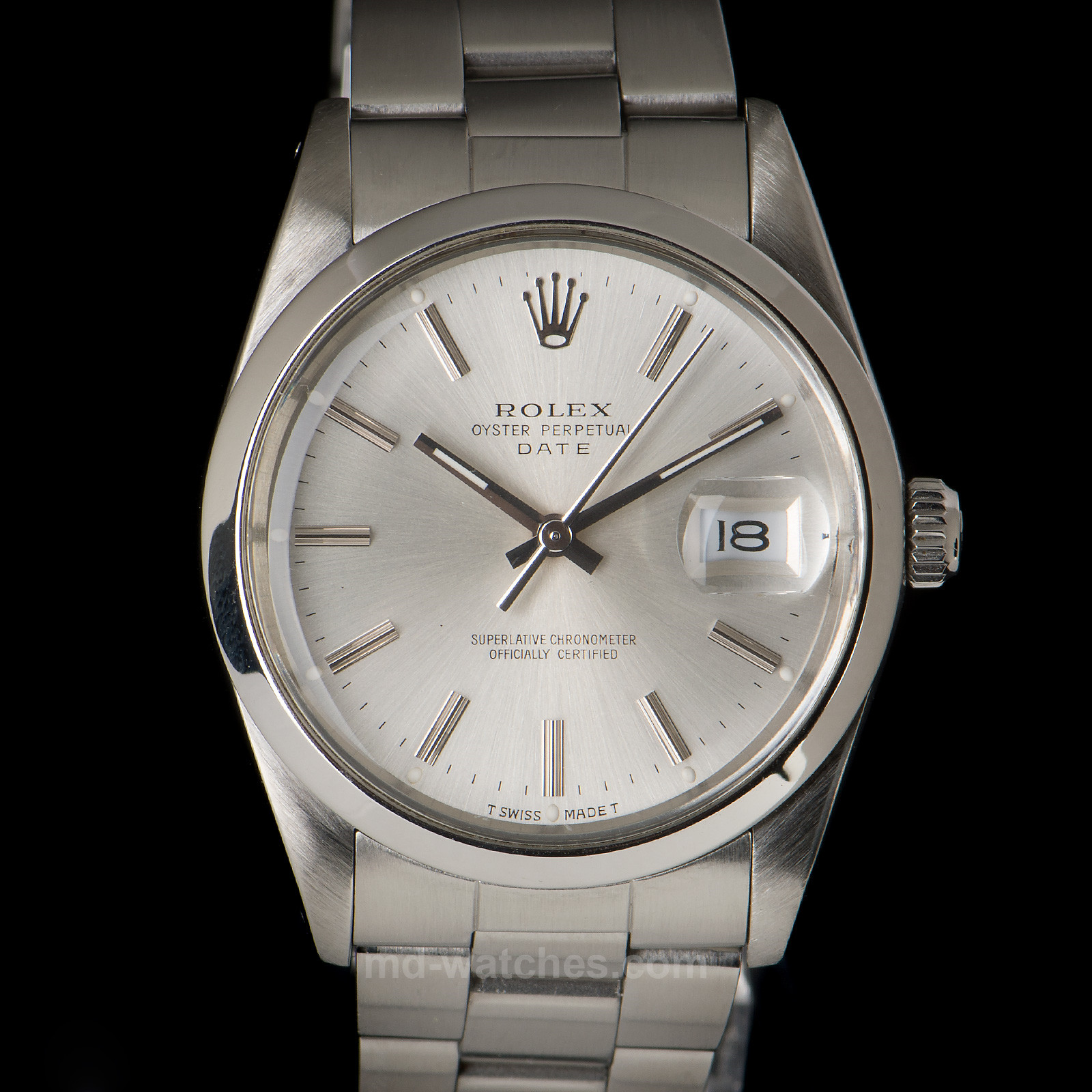 Rolex Oyster Perpetual Date Ref.: 15000 - 34mm - MD Watches