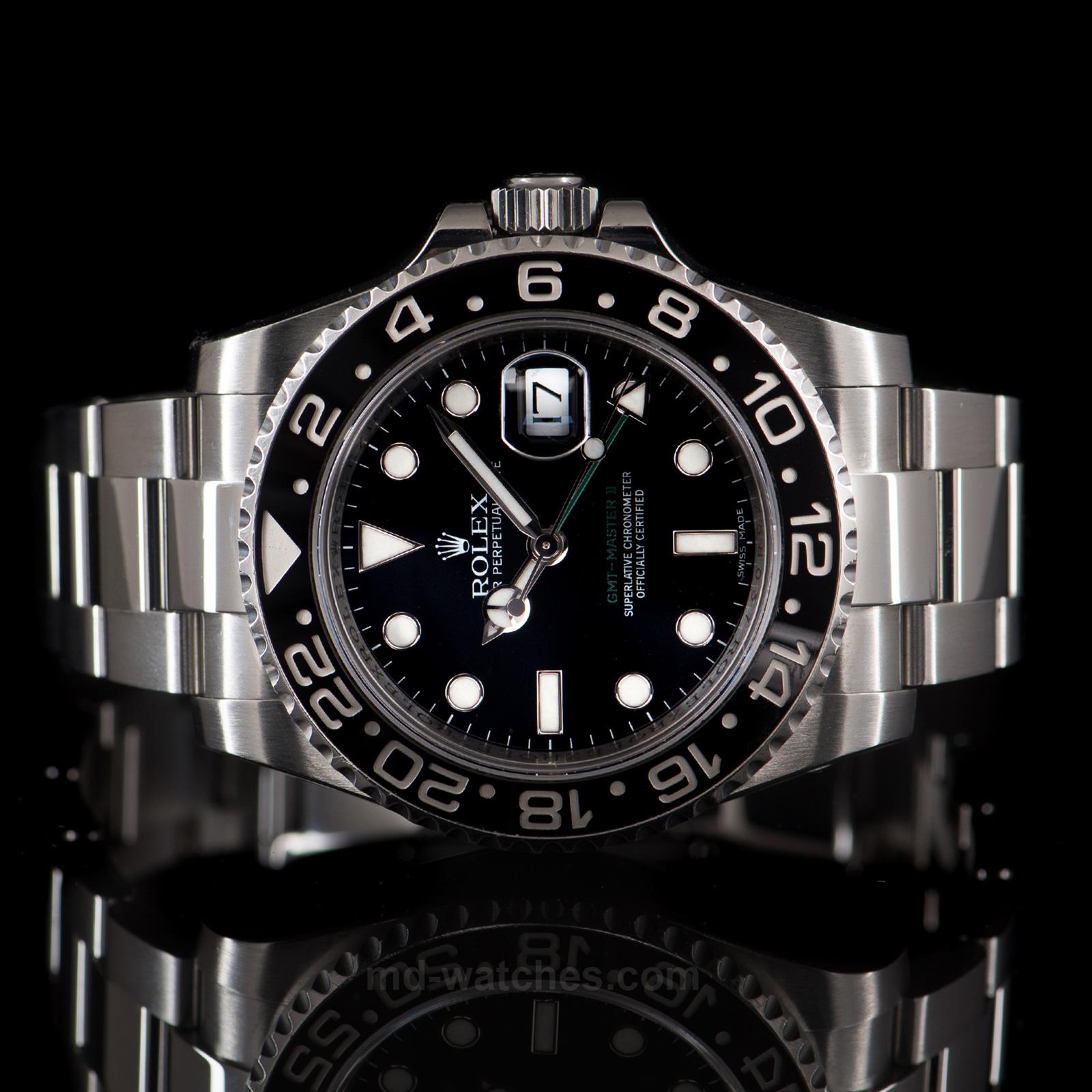 d1c21203e22 Rolex GMT Master II 116710LN Ceramic – 40mm