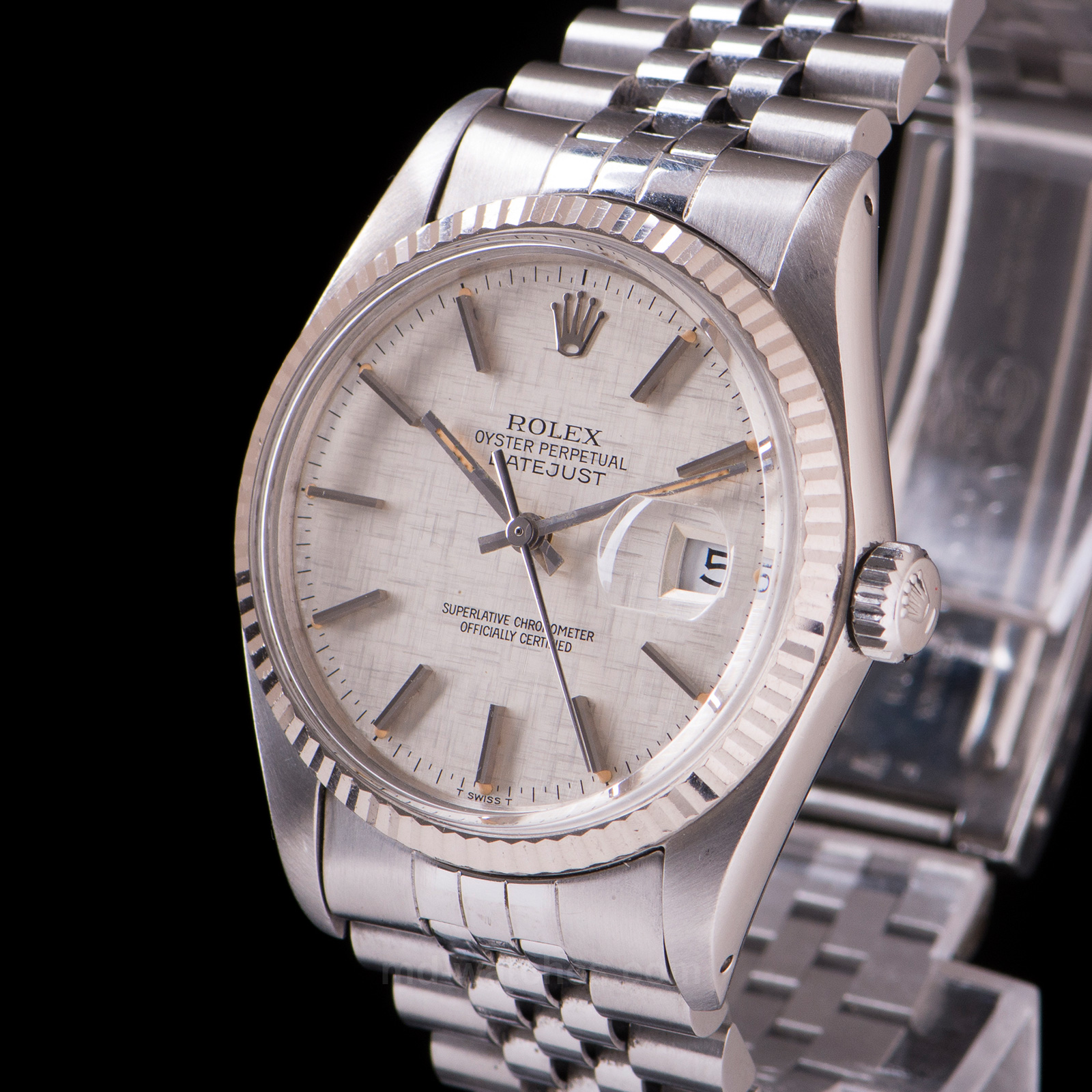 rolex oyster perpetual datejust ref 16014 36mm md watches. Black Bedroom Furniture Sets. Home Design Ideas