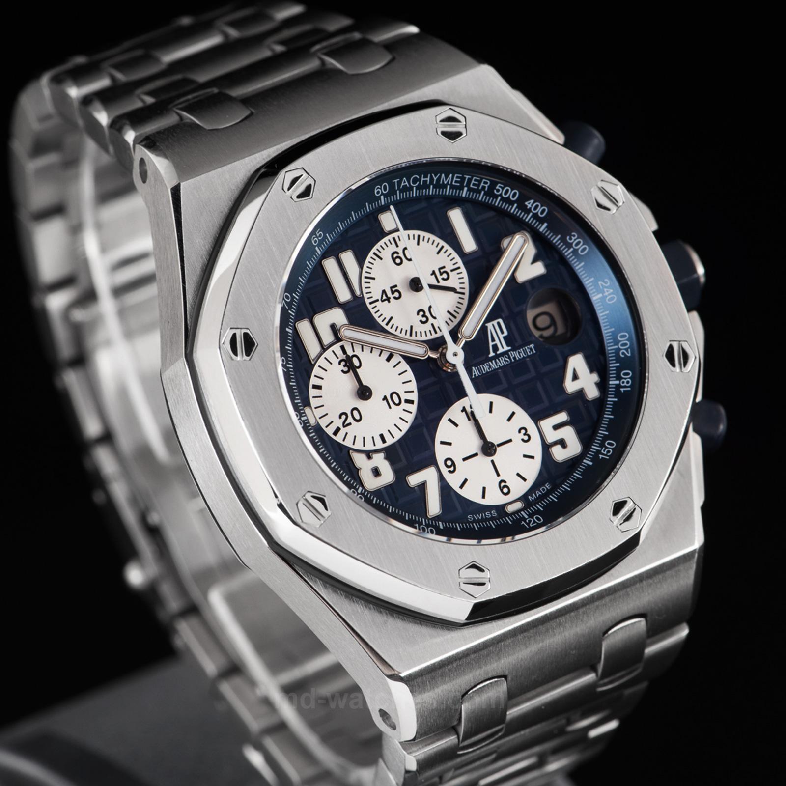 Audemars piguet royal oak offshore chronograph ref 25721st 42mm md watches for Ap royal oak offshore chronograph