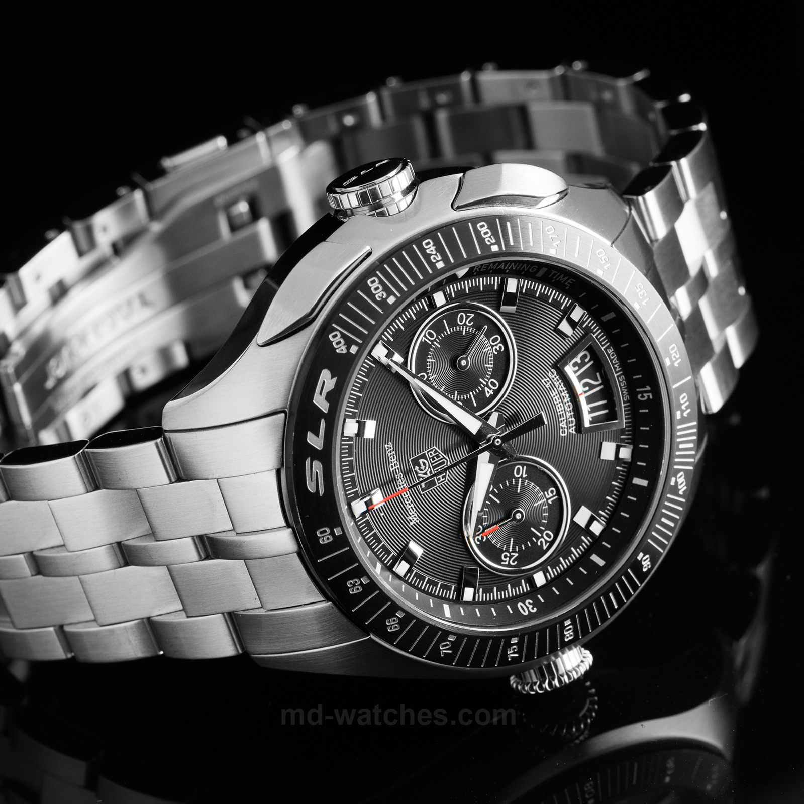 Tag heuer slr for mercedes benz limited edition of for Mercedes benz limited edition
