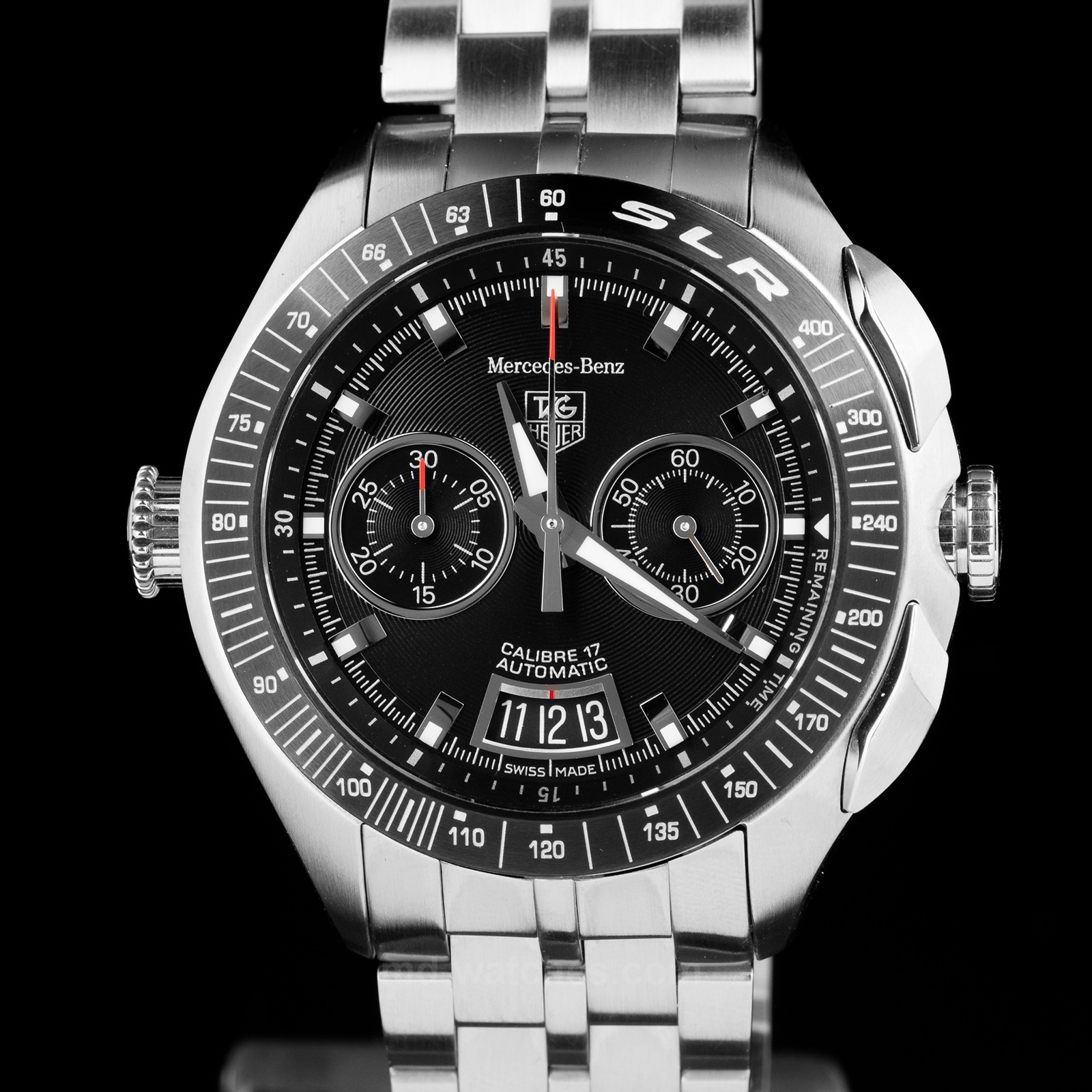 Tag heuer slr for mercedes benz limited edition of for Mercedes benz tag