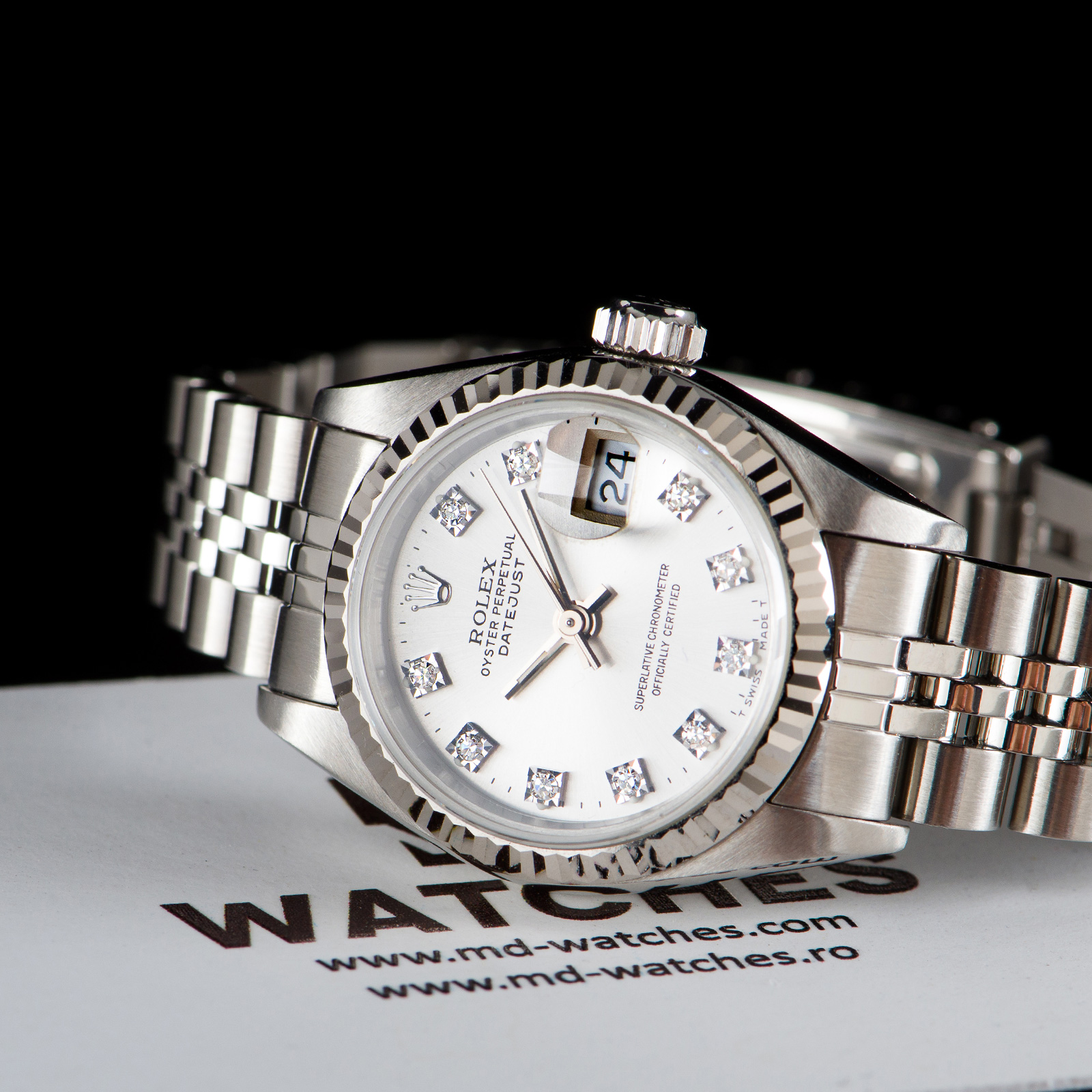 Rolex Oyster Perpetual Datejust With Diamonds Price