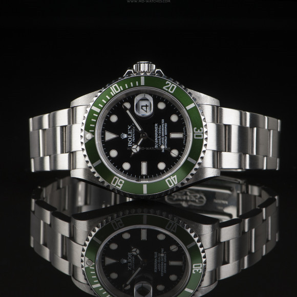 Rolex Submariner 50th Anniversary 16610LV 3