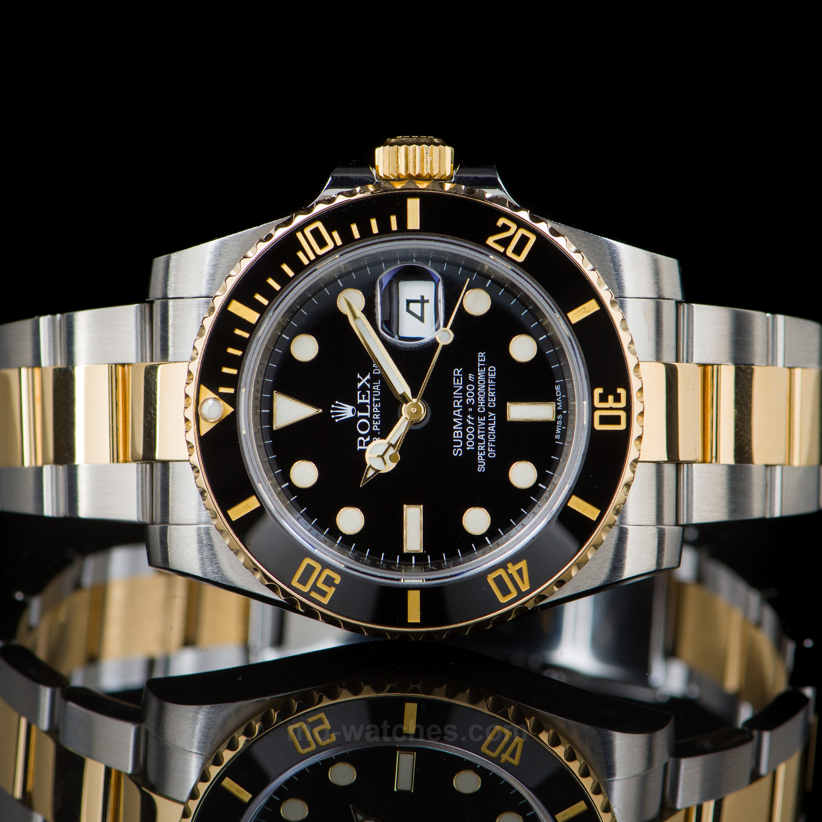 7242bacd0ac44 Rolex Submariner Date Ref: 116613LN Two-tone gold/steel - 40mm - MD ...